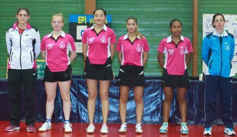 Perrine, Laura, Yanan, Roxana, Vony et Natacha