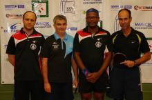 Pascal, Damien, Jean-Evenor et Fabrice