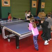Atelier de tennis de table pour les plus jeunes