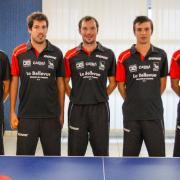 L'équipe de tennis de table de Caen (saison 2014-2015)